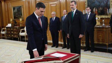 Photo of Pedro Sánchez promete su cargo como presidente del Gobierno