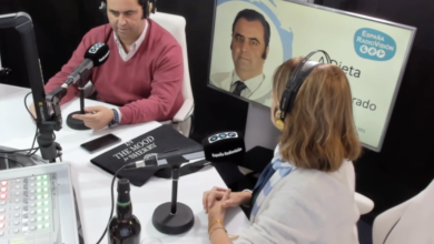 Photo of Dr. Agarrado: «El vino Fino de Jerez, está permitido en una dieta saludable».