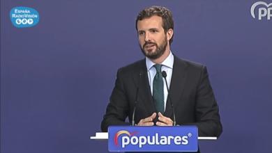 """Photo of Casado tacha de """"radical"""" el futuro gobierno de Sánchez e Iglesias"""
