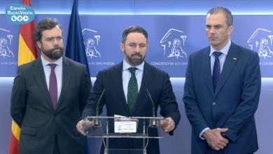 Photo of Abascal tacha de «fraude electoral» el pacto del PSOE con el partido comunista de UNIDAS PODEMOS.