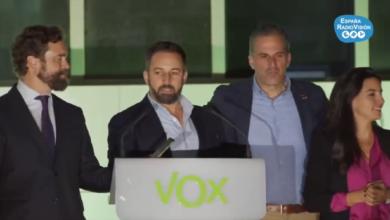 Photo of VOX, el gran vencedor de la noche.
