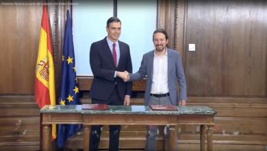 Photo of Podemos firma el Acuerdo de Coalición con Pedro Sánchez