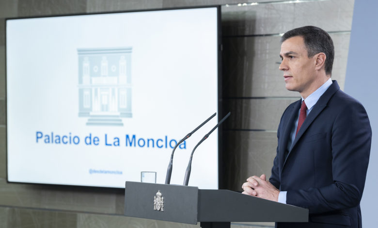 Photo of Pedro Sánchez anuncia que mañana decretará el Estado de Alarma en España