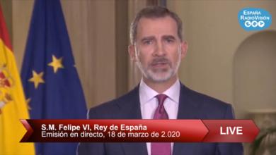 Photo of DIRECTO PALACIO ZARZUELA |Discurso de S.M. EL REY, Felipe VI, con motivo del Coronavirus en España.