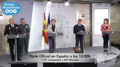 Photo of España supera los 9.000 contagiados mientras las Fuerzas Armadas dedican todos sus esfuerzos a la lucha contra el COVID-19