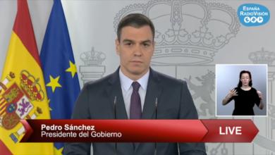Photo of Pedro Sánchez comparece para anunciar pequeños alivios en las restricciones del Estado de Alarma