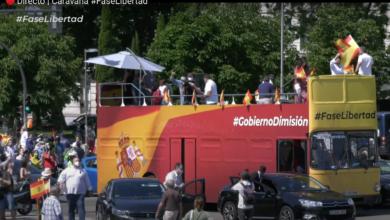 Photo of Éxito rotundo de «la caravana de la libertad» exigiendo la dimisión del Gobierno socialcomunista de Sánchez e Iglesias