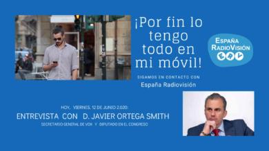 Photo of Ortega Smith: «Hay un pequeño autónomo que no figura en los discursos de la izquierda y que representa a la España real, a la que madruga»