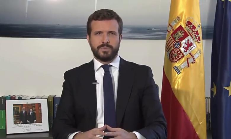 Photo of El discurso de Pablo Casado en defensa de la Monarquía